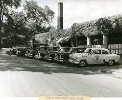 Bangor Police Department Motor Fleet, Ca. 1954