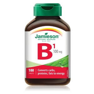 Jamieson B1 Vitamin - 100mg, 100