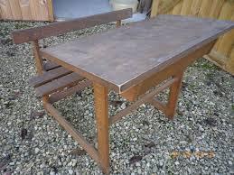 bureau d 馗olier ancien en bois 1 place achetez bureau d écolier occasion annonce vente à bourg en bresse