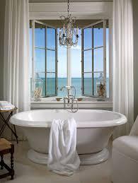 Chandelier Over Bathtub Soaking Tub by Charmingly Bathtub Design Ideas For Bathroom