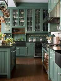 Teal Green Kitchen Cabinets by The One Color Designers Are Starting To Paint Their Kitchen