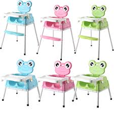 100 Frog High Chair New Design Lovely Plastic Adult Baby Bouncer 3 In 1