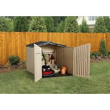 Rubbermaid Slide Lid Shed Manual by Rubbermaid 1800005 Sliding Lid Storage Shed Amazon Ca Patio