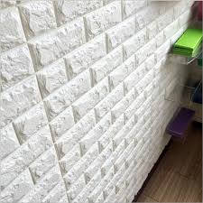 New PE Foam 3D DIY Stone Brick Self Adhesive Wall Stickers Home Decor 39