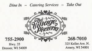 Village Pizzeria Dresser Wi Menu by Wpca Support U2013 Wpca Radio