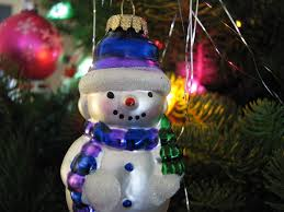Frosty Snowman White Christmas Tree by File Christmas Ornament Snowman Lights Jpg Wikimedia Commons