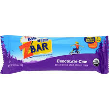 Clif Kid Z Bars Organic Chocolate Chip
