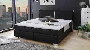 boxspringbett sally bett in schwarz für schlafzimmer mit