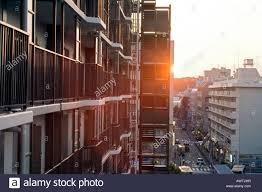 100 Apartments In Yokohama Residential High Rise Apartment Building N Japan At