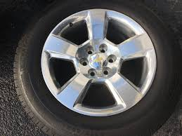 100 Oem Chevy Truck Wheels SOLD 2014 Silverado 1500 OEM 20 Wheels And Michelin Tires