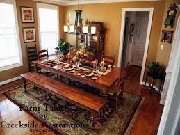 Houzz Dining Tables New To Wood Table With Bench Rustic Room Sets For The Amusing