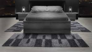 bettumrandung hochflor teppich schlafzimmerteppich modern design