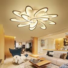 blume acryl led deckenleuchte moderne wohnzimmer deckenleuchte hause indooor beleuchtung für schlafzimmer esszimmer