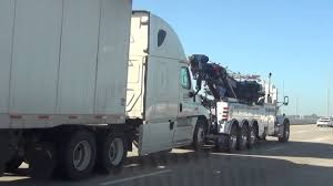100 Semi Tow Truck Ing And Trailer YouTube