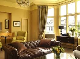 monochromatic design ideas living room contemporary with yellow