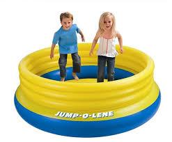 piscine a balle gonflable gonflable jeu de pvc intex 48267 enfants saut piscine troline