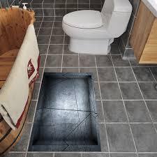 3d anti skid floor stickers waterproof wall stickers kitchen