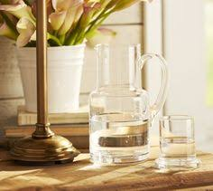 Pottery Barn Bathroom Accessories by Ultimate Large Canister Clear Glass Bath Accessories Bath And