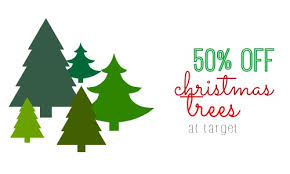 Walgreens Christmas Trees 2014 by Target Com Deal 50 Off All Artificial Christmas Trees