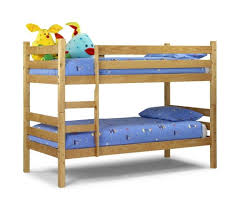 bedroom simple and cheap wooden bunk bed design for kids with