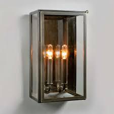 electric vic indoor outdoor wall sconce in bronze ue 8710 bz