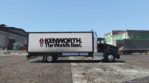 100 Gta 5 Trucks And Trailers 2012 Kenworth T440 Box Flatbed Truck Template 20 For GTA
