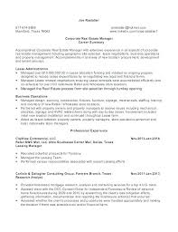 Regional Property Manager Resume Examples