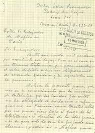 Carta De Richelieu A Claude De Razilly Pidiéndole A Hacer Everyhting