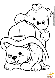 Christmas Coloring Pages Cartoon My Pet T Rex Dinosaurs Page Two Kittens Litter Of Cute