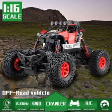 100 All Wheel Drive Trucks 116 24GHZ 4WD Monster Vehicle Shaft RC Truck OffRoad Racing