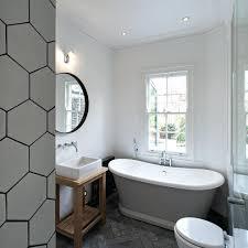 gray hexagon floor tile thematador us