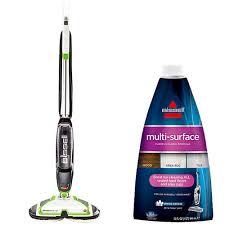 spinwave hard floor spin mop and multisurface formula bundle