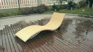 Pool Chair Lounger Chairs Cheap Plastic Lounge Modern Swimming Waterproof Rattan Sun