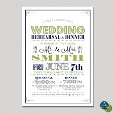 Modern Typography Wedding Rehearsal Dinner Invitation By AlexisScottDesigns Retro Poster Style Rustic