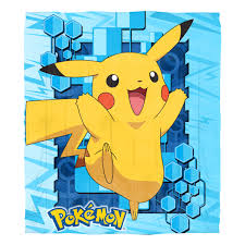 Pokemon Big Pika Twin Full Bedding forter Set es with