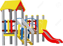 Playground clipart preschool playground Pencil and in color