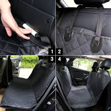 Luxury Waterproof Pet Seat Cover For Cars - GoogeShop Pet Seat Cover Reg Size Back For Dogs Covers Plush Paws Products Car Regular Black Dog Waterproof Cars Trucks Suvs My You And Me Hammock Amazoncom Ksbar With Anchors Single Front Shop Protector Cartrucksuv By Petmaker On Tinghao Universal Vehicle Nonslip Folding Rear Style Vexmall Seat Cover Lion Heart Pets Lhp1 Heart Approved Eva Foam With Suvs And