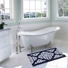 Bathtub Refinishing Training Videos by Better Homes And Gardens Indigo Arabesque Bath Mat Walmart Com