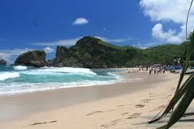 Located About 70 Km From Downtown Jogja Siung Beach Can Be Reached With Travel Time Of Two Hours This Has Large Rocks