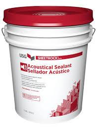 Certainteed Ceiling Tile Msds by Usg Sheetrock Brand Acoustical Sealant Usg
