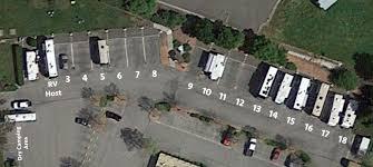 RV Park Aerial View