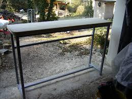 fabriquer table haute cuisine fabriquer table haute cuisine intérieur déco