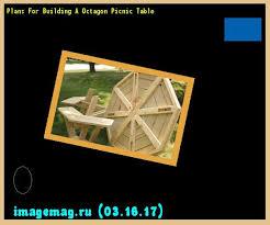 top 17 idei despre octagon picnic table pe pinterest