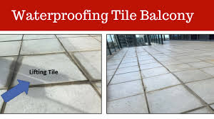 Waterproof Coatings Tiled Balcony