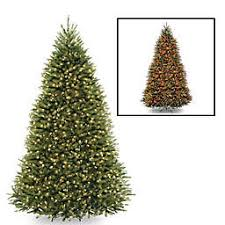 National Tree Company Dunhill Fir Pre Lit Christmas With Dual ColorR Lights