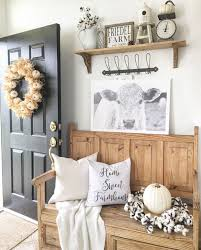 Rustic Farmhouse Entryway Definitely Live This Bench