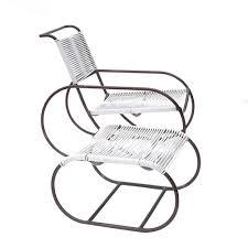 Kip Stewart Streamline Lounge Chairs W/ Ottomans Pr   TFTM ...