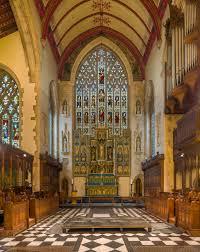 100 Kensington Church London FileHoly Trinity Reredos South UK