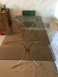 70's Retro Smoked Glass Dining Table With 6 Bauhaus Style Chairs | In  Acocks Green, West Midlands | Gumtree Graystone Trestle Ding Room Set Four Ding Room Chairs In A Houndstooth Pattern Upholstery Mid Century Modern Teak Mcintosh Chairs 70s Lidia I Sixties Fniture Is Making Comeback With Surging Prices Of Extendable Table And 6 Teak Black Leatherette 1970s Boscov S Table Awesome Sets Harvey Norman Ireland Jayla Upholstered Chair Meredew Extending Cw11 Wheelock Retro Smoked Glass Bhaus Style Acocks Green West Midlands Gumtree Small Boy At Seventies Wooden