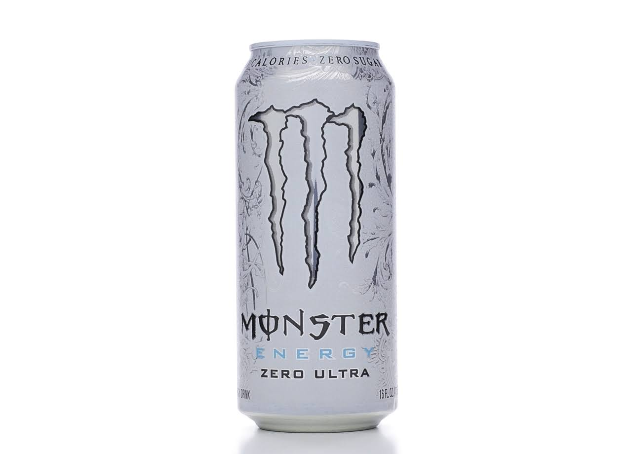 Monster Energy Drink - Zero Ultra, 16 fl oz